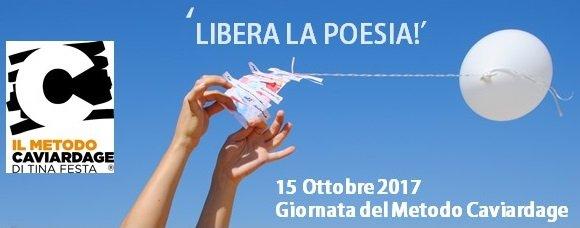 'LIBERA LA POESIA' – LA GIORNATA DEL METODO CAVIARDAGE! 15/10/2017
