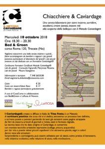 Chiacchiere e Caviardage (Novara)