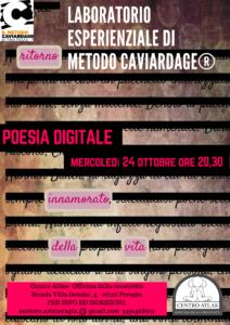 Perugia- Laboratorio esperienziale di Metodo Caviardage®