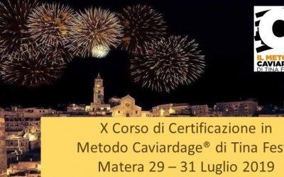 X Corso di Certificazione in Metodo Caviardage Luglio 2019