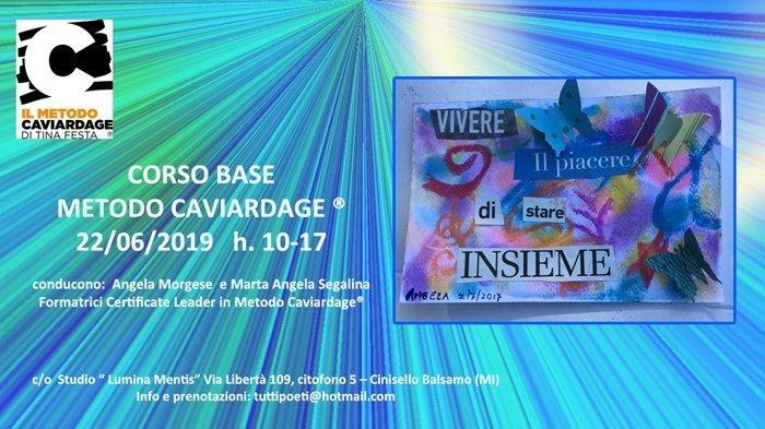 MILANO – CORSO BASE METODO CAVIARDAGE®