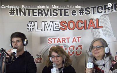 Angela Morgese e Giovanna Palumbo parlano del Metodo Caviardage su LiveSocial Radio Lombardia