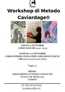 Cassino (FR)-Workshop di Metodo Caviardage®