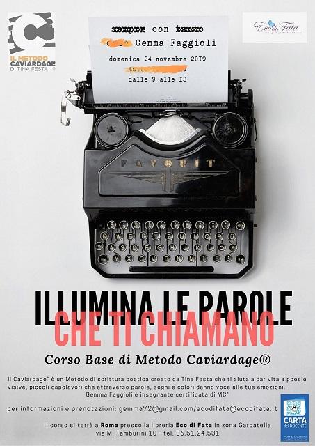 ROMA / Metodo Caviardage / Corso Base