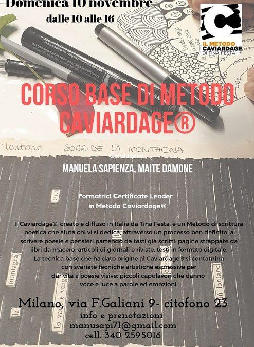 CORSO BASE METODO CAVIARDAGE