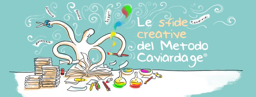 Le sfide creative con il Metodo Caviardage