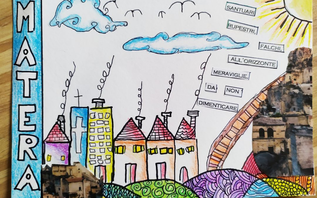 Sfida creativa: una cartolina per Matera