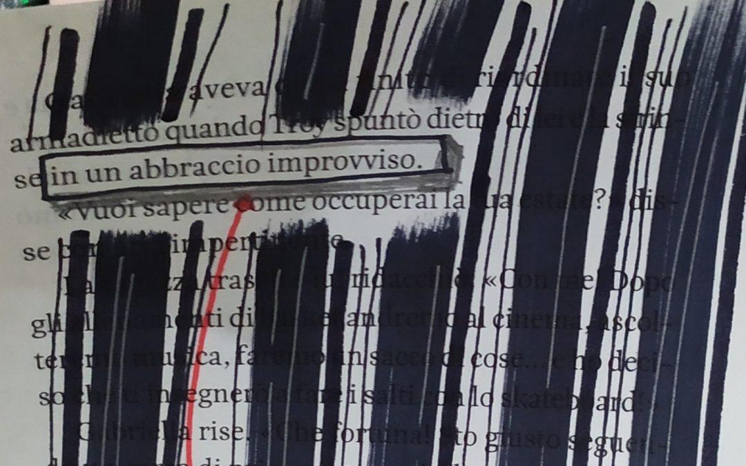 La poesia dentro gli occhi. Sfida creativa Marzo 2020.