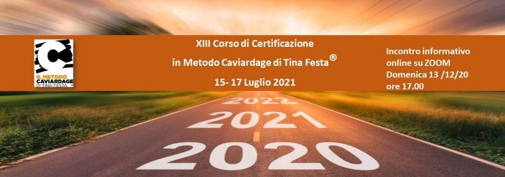 Nuovo Corso di certificazione in Metodo Caviardage – Luglio 2021 – Meeting online di presentazione.