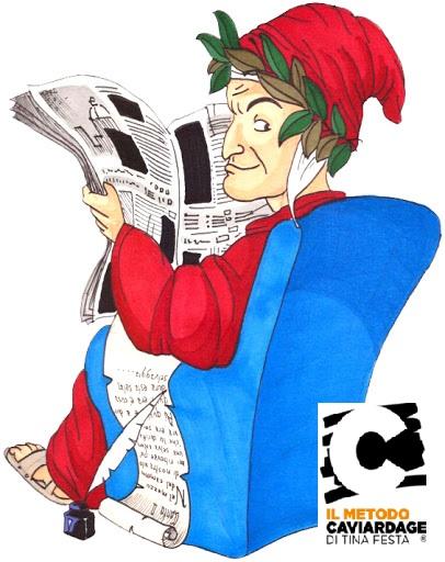 Dante e il Metodo Caviardage a scuola.