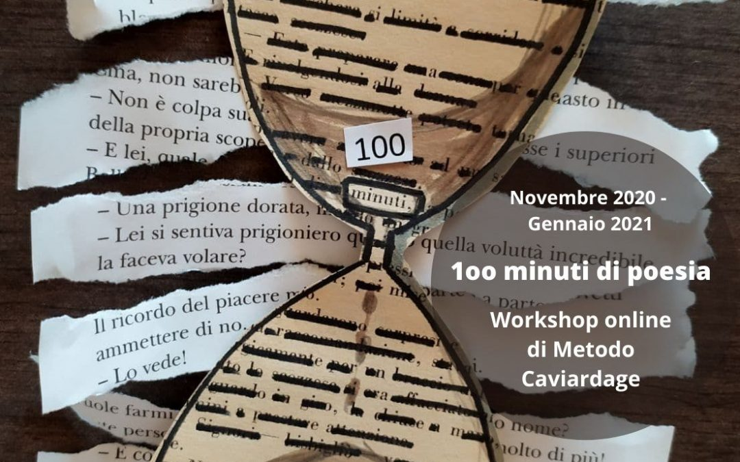Workshop online di Metodo Caviardage.